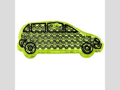 Fényvisszaverő figura , autó, sárga