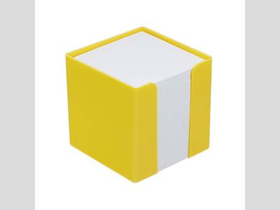 Jegyzetlaptartó, sárga