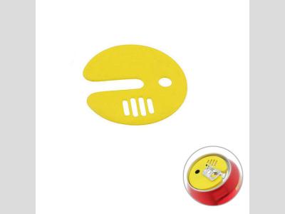Italosdoboz fedél, sárga