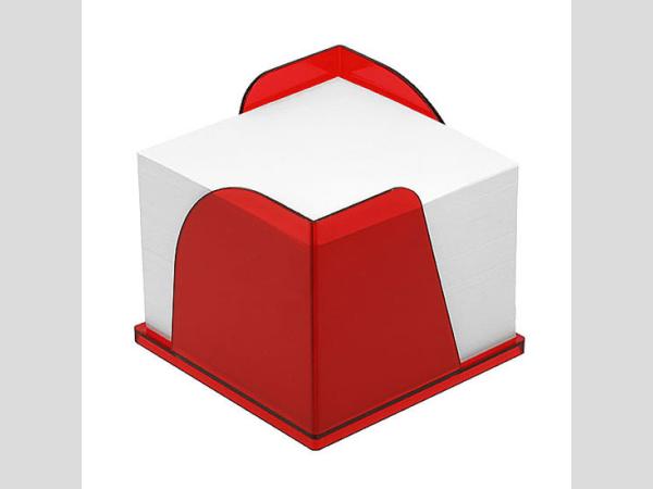 Extra jegyzetlaptartó, piros