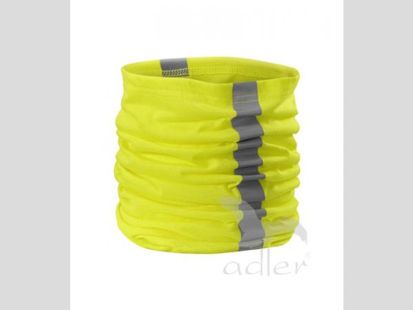 Fényvisszaverő sál,-kendő narancs